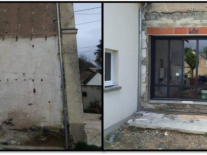 Entreprise de ma onnerie 49 modifier des murs porteurs for Porte mur porteur