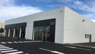 Construction du bâtiment professionnel Renault